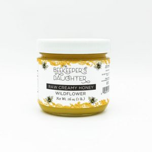 wildflower raw creamy honey